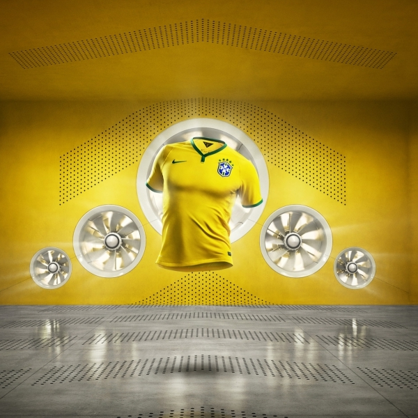 Brand Elevation in eRetail | Brasil Be Cool Football Kit Launch