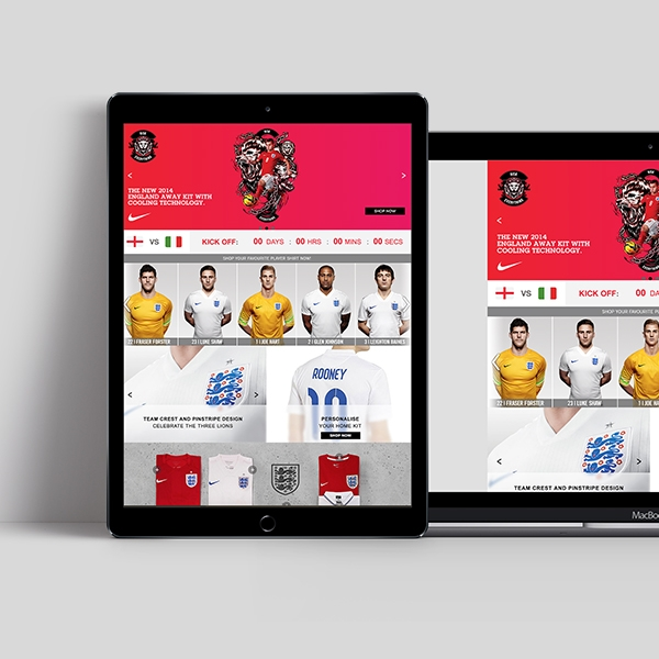 Brand Elevation in eRetail | England World Cup for JDSports