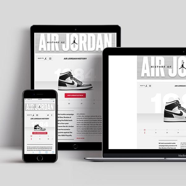 Brand Elevation in eRetail | History of Air Jordan