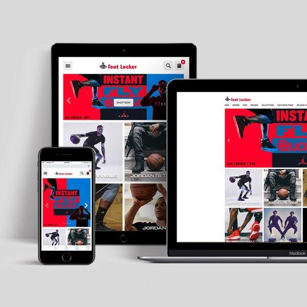Brand Elevation in eRetail | Jordan Online Flagship Store