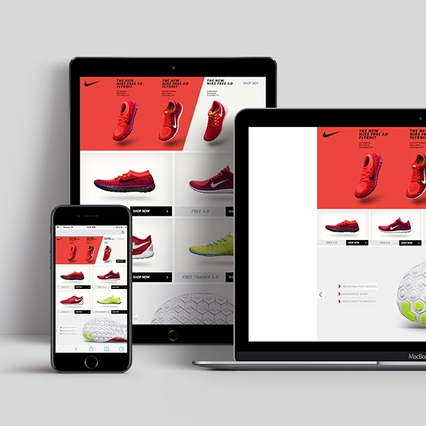 Brand Elevation in eRetail | New Nike Free 5.0. (Women) Launch