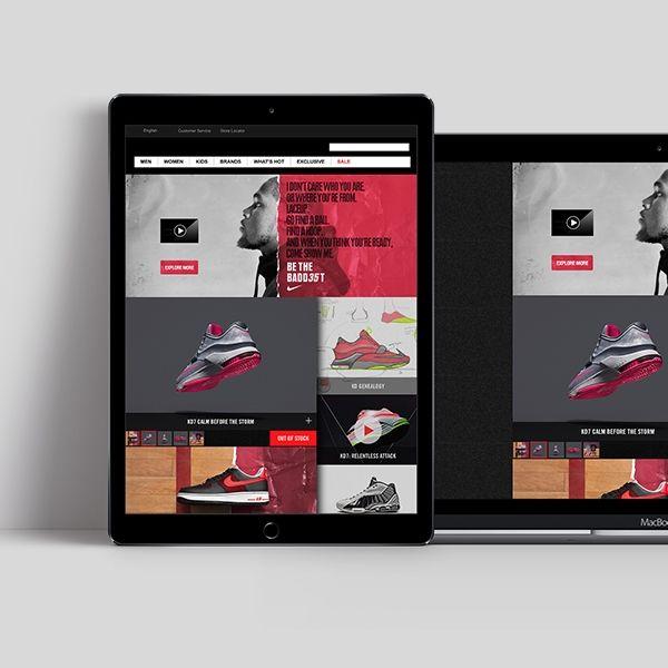 Brand Elevation in eRetail | Nike Baddest on Footlocker.eu