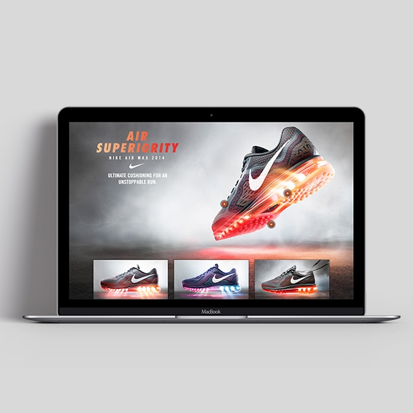 Brand Elevation in eRetail   Air Superiority - Nike Air Max 2014