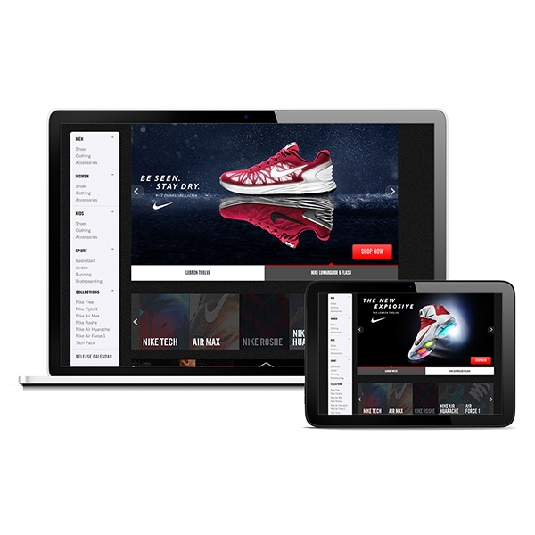 Brand Elevation in eRetail | Nike Experience Page| Footlocker.eu